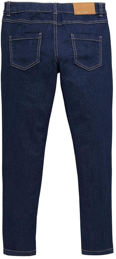 Very 2 Pk Skinny Jeans Indigo - Charcoal