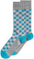 Alfani Men's T Puzzle Socks, Created for Macy's
