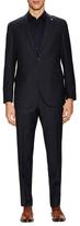 Lubiam Wool Striped Notch Lapel Suit
