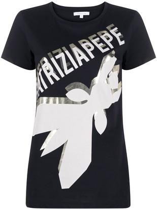 Patrizia Pepe logo print T-shirt