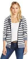 Threads 4 Thought Women's Brynn Vintage Wash Stripe Fleece Zippie