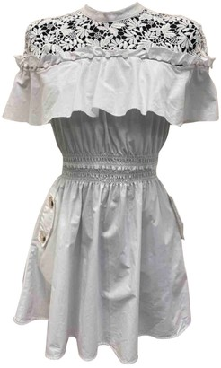 Self-Portrait White Cotton Dresses