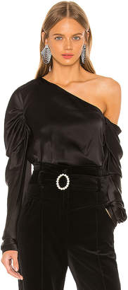 Michael Lo Sordo Cold Shoulder Blouse