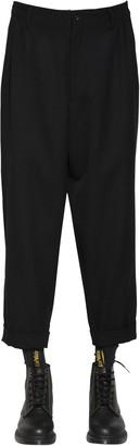 Yohji Yamamoto Wool & Cotton Gabardine Pants