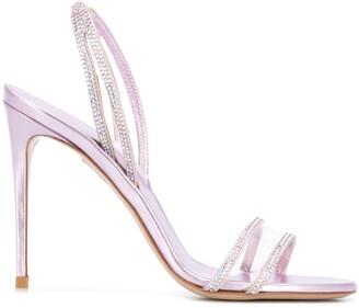 Le Silla Macaron embellished sandals