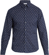 Boglioli Floral-print cotton shirt