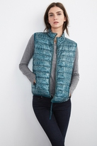 Seema Printed Puffer Vest