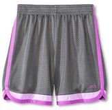 Champion Girls' Basketball Shorts Hardware Gray