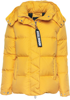 Goose Tech Goosetech Goosetech Yellow Padded Jacket