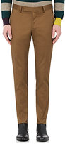 Paul Smith Men's Stretch-Cotton Twill Trousers