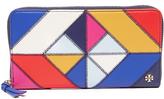 Tory Burch Diamond Stitch Zip Continental Wallet