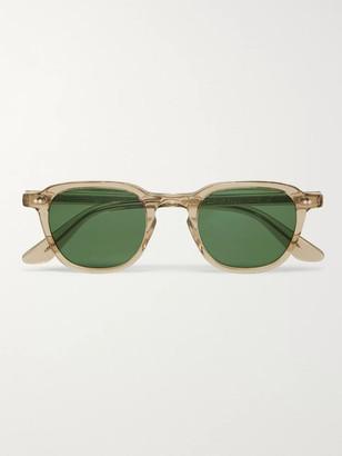 MOSCOT Billik Round-Frame Tortoiseshell Acetate Sunglasses