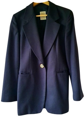 Gianfranco Ferre Blue Wool Jackets