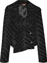 Vivienne Westwood Wool-blend zebra-print jacket
