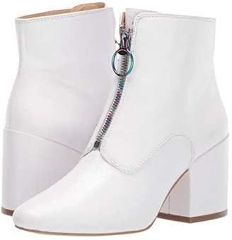 Katy Perry The Justine (Silver Tumbled Metallic) Women's Boots