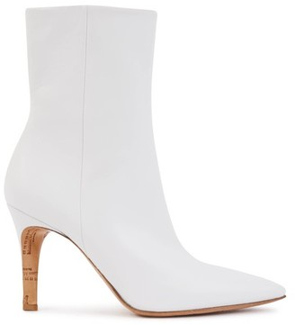 Maison Margiela Ankle boots with contrasting heels