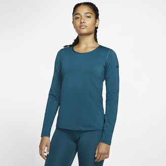 Nike Women's Long-Sleeve Training Top Victory
