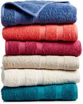 "Baltic Linens CLOSEOUT! Chelsea Home Cotton 13"" Square Washcloth"