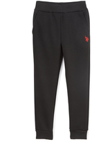 U.S. Polo Assn. Black Fleece Sweatpants - Girls