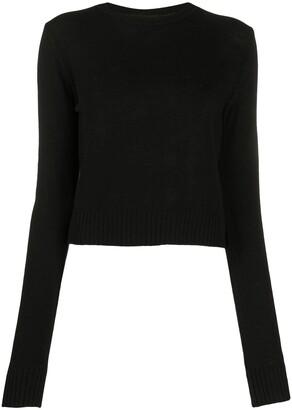 Jil Sander Long-Sleeved Fine-Knit Top