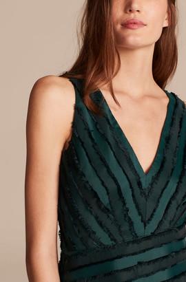 Rebecca Taylor Eyelash Stripe Short Dress