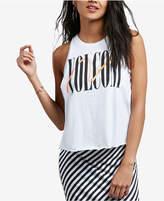 Volcom Juniors' Cotton Logo Muscle T-Shirt