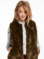 Scotch & Soda Faux Fur Vest