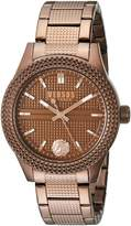 Versus By Versace Women's 'BAYSIDE' Quartz Stainless Steel Casual Watch, Color: (Model: SOJ140016)