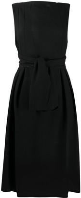 Daniela Gregis tie-waist A-line dress