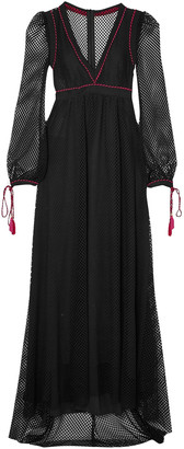 Philosophy di Lorenzo Serafini Macrame Maxi Dress