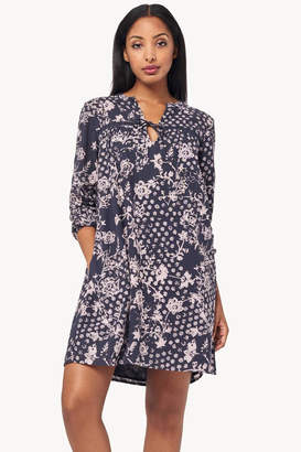 Lilla P Floral Lace Inset Dress