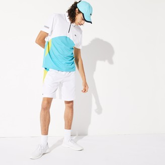 Lacoste Men's SPORT Lightweight Colorblock Tennis Shorts