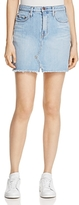 Nobody Piper Denim Skirt in Favourite