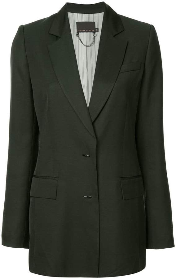 Ginger & Smart Merge single breasted blazer
