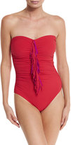 Karla Colletto Fresco Duo Bandeau One-piece Swimsuit