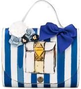 MonnaLisa embellished tote bag