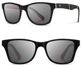 Shwood Men's 'Canby - Pendleton' 54Mm Polarized Sunglasses - Black Rancho Arroyo/ Brown