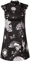 Giamba floral shift dress