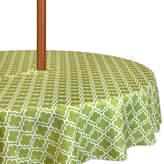 DESIGN IMPORTS Design Imports Lattice Umbrella Round Tablecloth