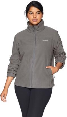 Columbia Women's Fast Trek II Full Zip Plus Size Fleece Jacket