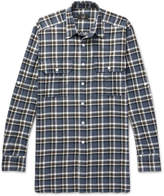 Dunhill - Checked Cotton-flannel Shirt