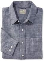 L.L. Bean L.L.Bean Linen Shirt, Slightly Fitted Long-Sleeve Stripe