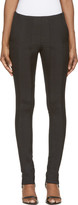 Paco Rabanne Black Knit Trim Trousers