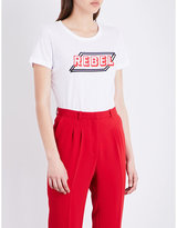 Claudie Pierlot Theory cotton-jersey T-shirt