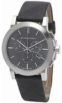 Burberry BU9359 42mm Stainless Steel Case Black Cloth Synthetic Sapphire Men's Watch