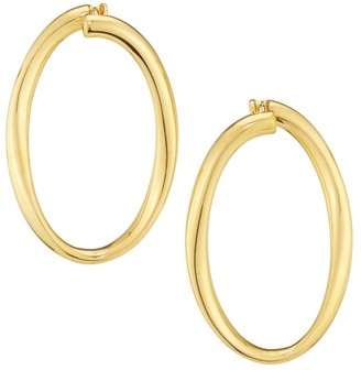 Alberto Milani Millennia 18K Yellow Gold Hoop Earrings