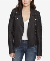 William Rast Audacious Alexa Studded Faux-Leather Jacket