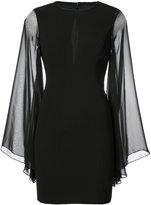 Aidan Mattox cut out detail dress - women - Polyester/Spandex/Elastane - 4