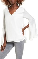 Leith Women's Split Sleeve Top