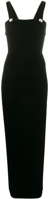 Balmain Knitted Bodycon Maxi Dress